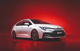 7月上市丰田新款雷凌运动版官图发布