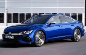 大众全新CC R实车曝光!2.0T+四驱,经典蓝车身涂装